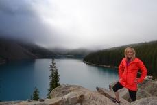 Moraine Lake. Banff N.P. Alberta, Canada