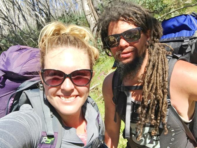 Victorias highest peaks hike Mt Feathertop